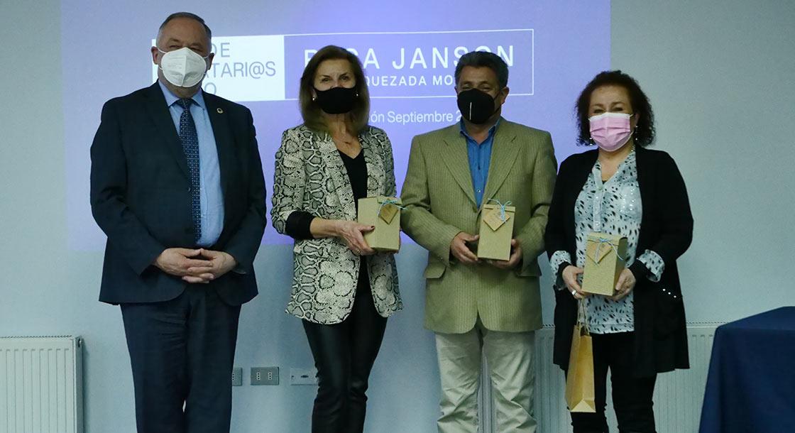 Red de Donatarios UFRO realiza entrega de Beca Janson